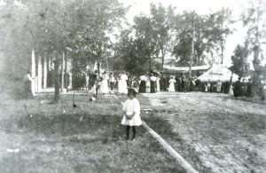 1907 - Welcome Home.  Centennial celebration