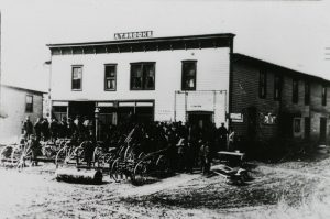A.T. Brooks Store - early 1900s -Macedonia