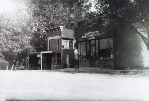 A.T. Brooks Store SS of 82 - H.O. Holbrook Store - Park is extreme Left