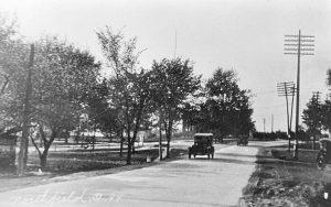 Brandywine Road at Northfield Center looking North - Corner of Rt 82