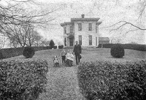 Charles Burrell Family Home 1903 - 1905.