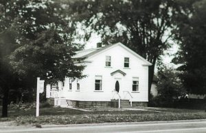 Community Library 1953-1964.  Currently the Palmer House Museum