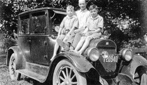 David Thomas - Allen Sherrill - Frank Thomas 1927 at Brightside in NCT 1928