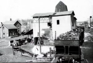 Fenton Lumber in the early 1900s.