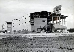 Northfield Park Construction August 30, 1957