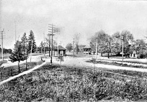 Northfield Center Township Public Square - Facing North