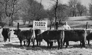 Susanna Huxley at Acadia Farms 11-4-1964 a